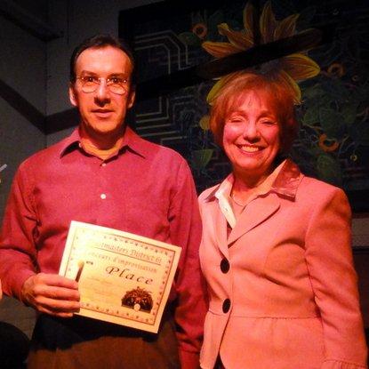 Michel Gadbois - gagnant du concours d'improvisation Toastmasters